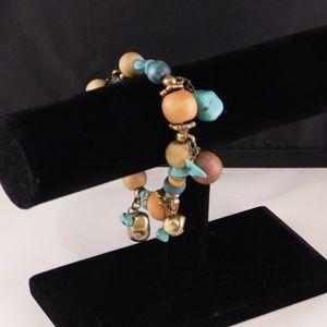 Stretchy Turquoise Bracelet